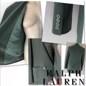 Ralph Lauren Jackets & Coats - Ralph Lauren  Purple label Cashmere Blazer SZ 2